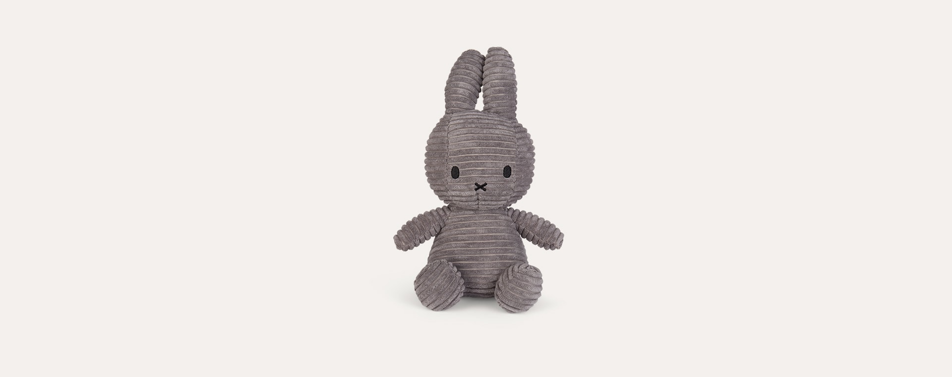 Grey Nijntje Miffy Miffy Corduroy Small