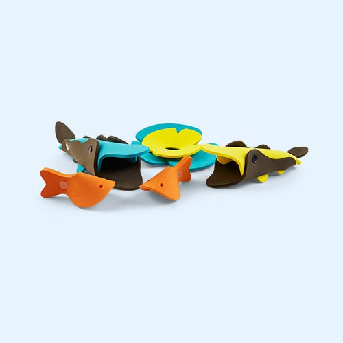 Crocodile River Quut Soft Foam Bath Toy Set