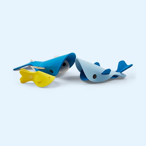 Deep Sea Whale Quut Soft Foam Bath Toy Set