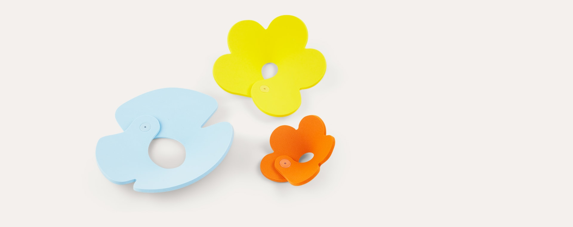 Frog Pond Quut Soft Foam Bath Toy Set