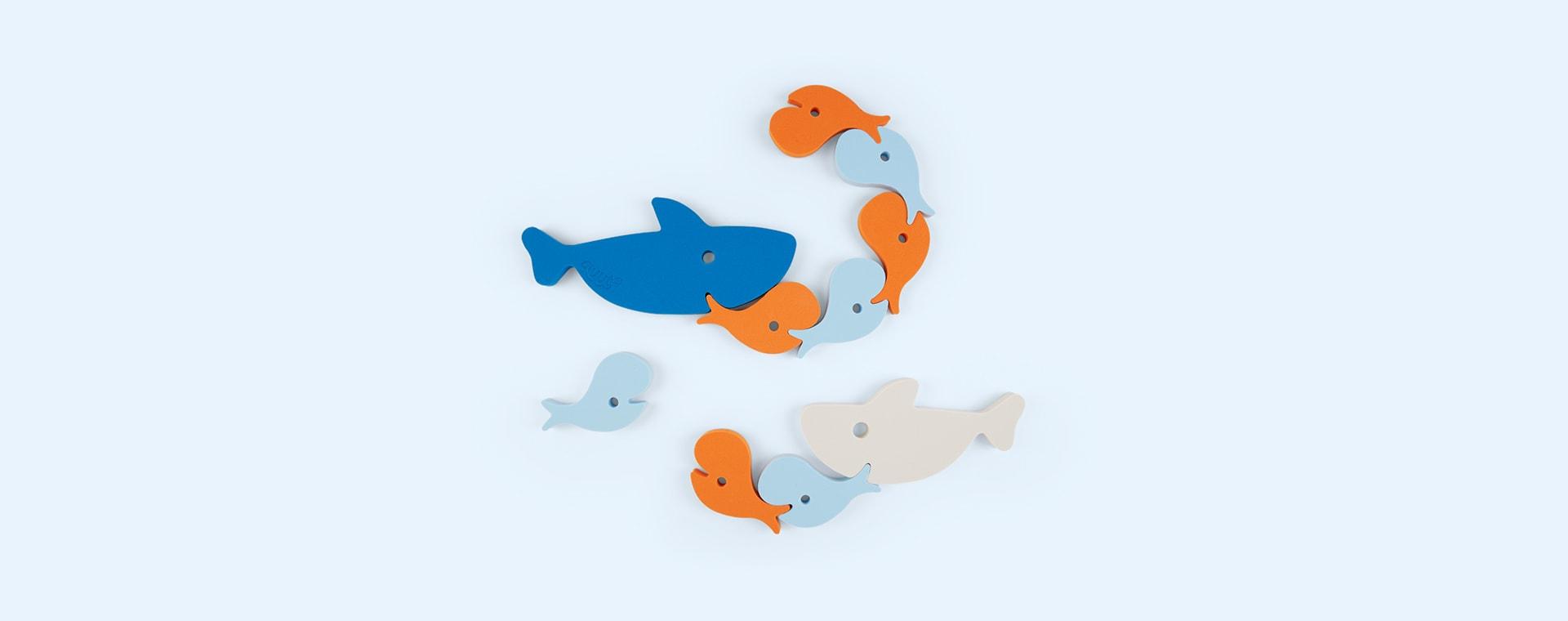 Shark Quut Soft Foam Bath Puzzle
