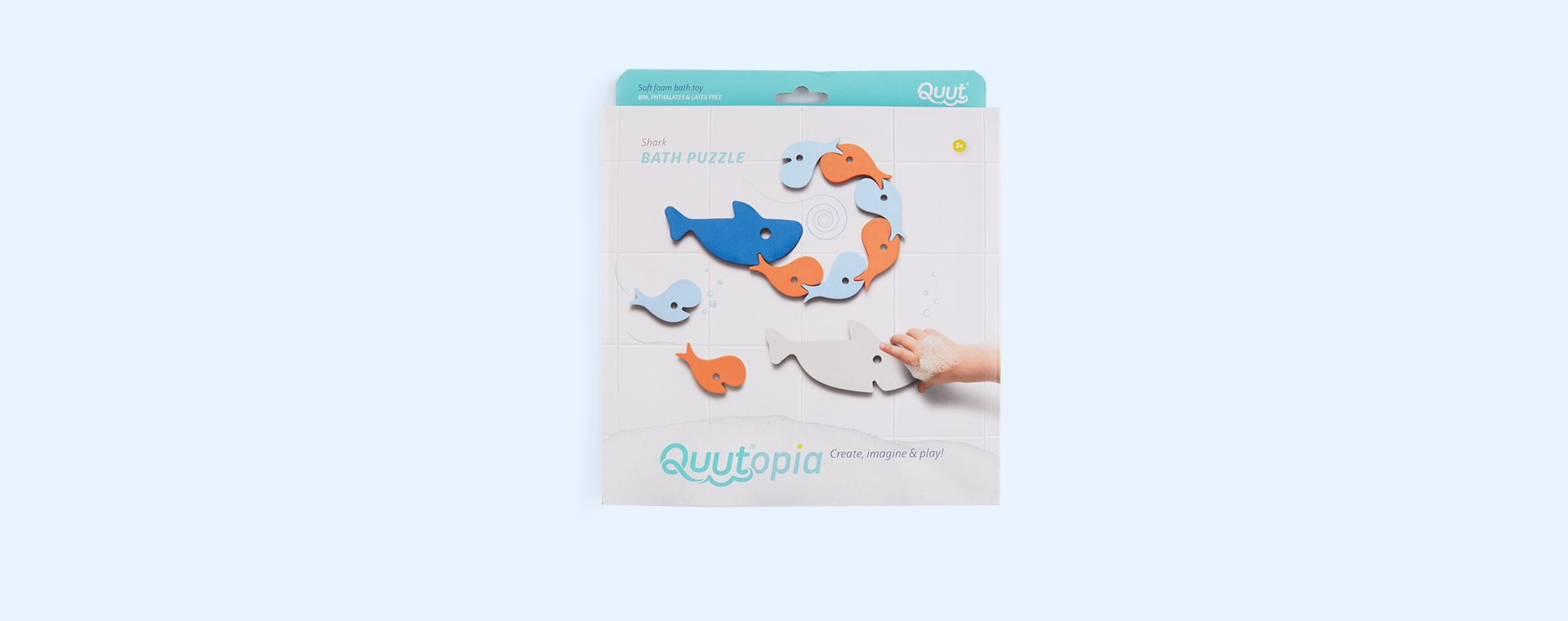 Shark Quut Soft Foam Bath Puzzle