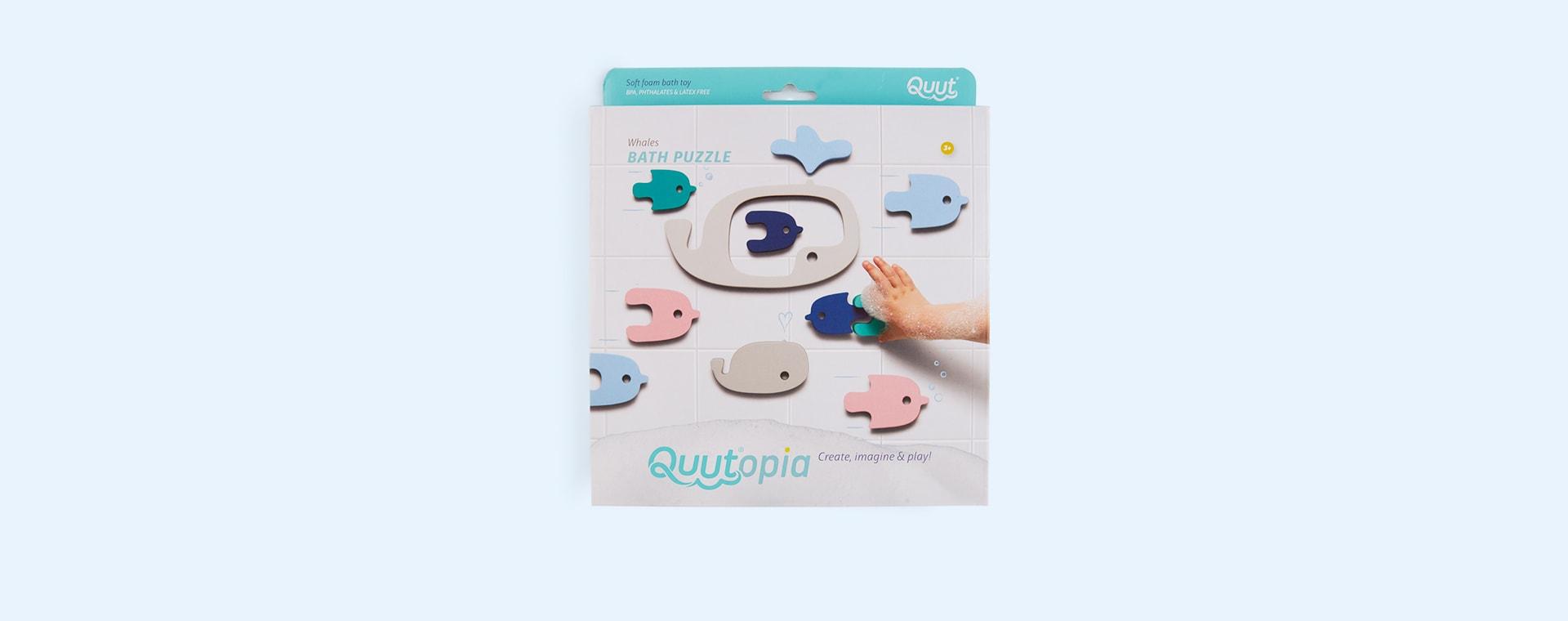 Whale Quut Soft Foam Bath Puzzle