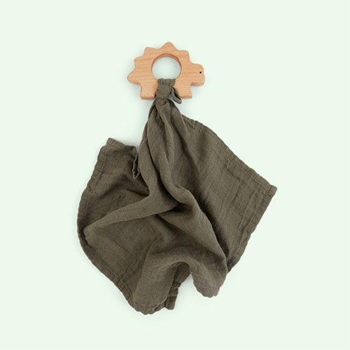 Faune Green Liewood Teether Cuddle Cloth