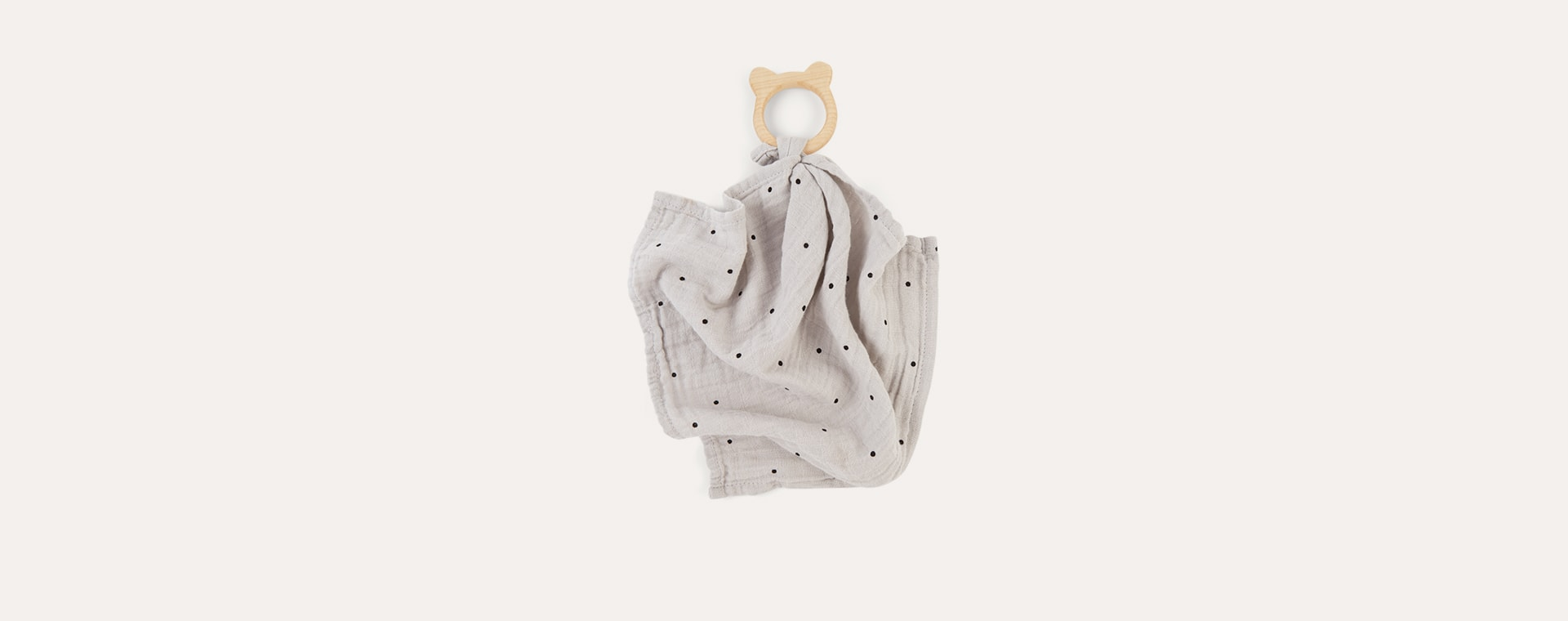 Classic Dot Dumbo Grey Liewood Teether Cuddle Cloth