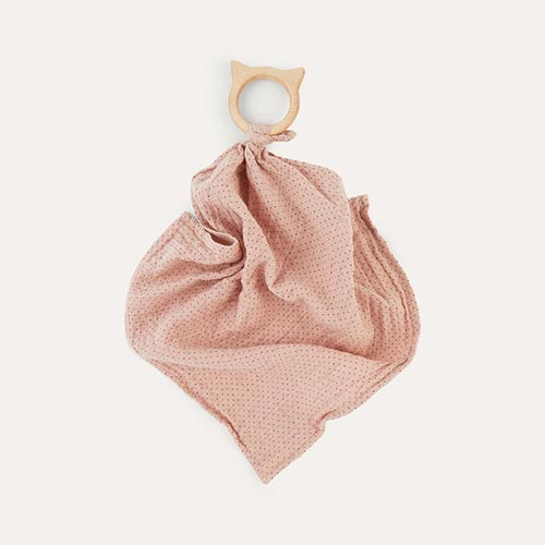 Little Dot Rose Liewood Teether Cuddle Cloth