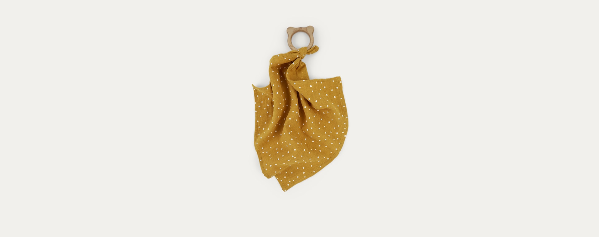 Confetti Yellow Mellow Liewood Teether Cuddle Cloth