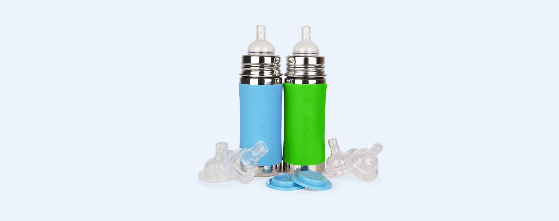 Aqua & Green Pura 11oz Infant Starter Set