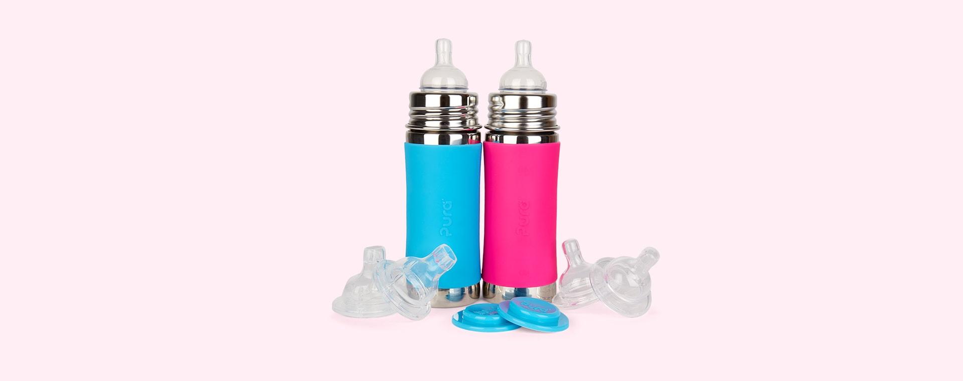 Aqua & Pink Pura 11oz Infant Starter Set