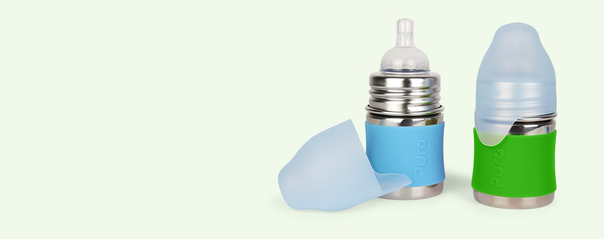 Aqua & Green Pura 5oz Infant Starter Set