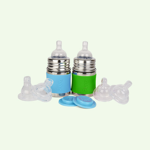 Aqua & Green Pura 5oz Infant Starter Set