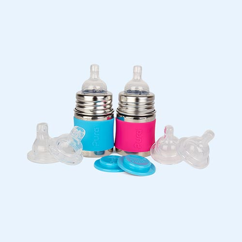 Aqua & Pink Pura 5oz Infant Starter Set