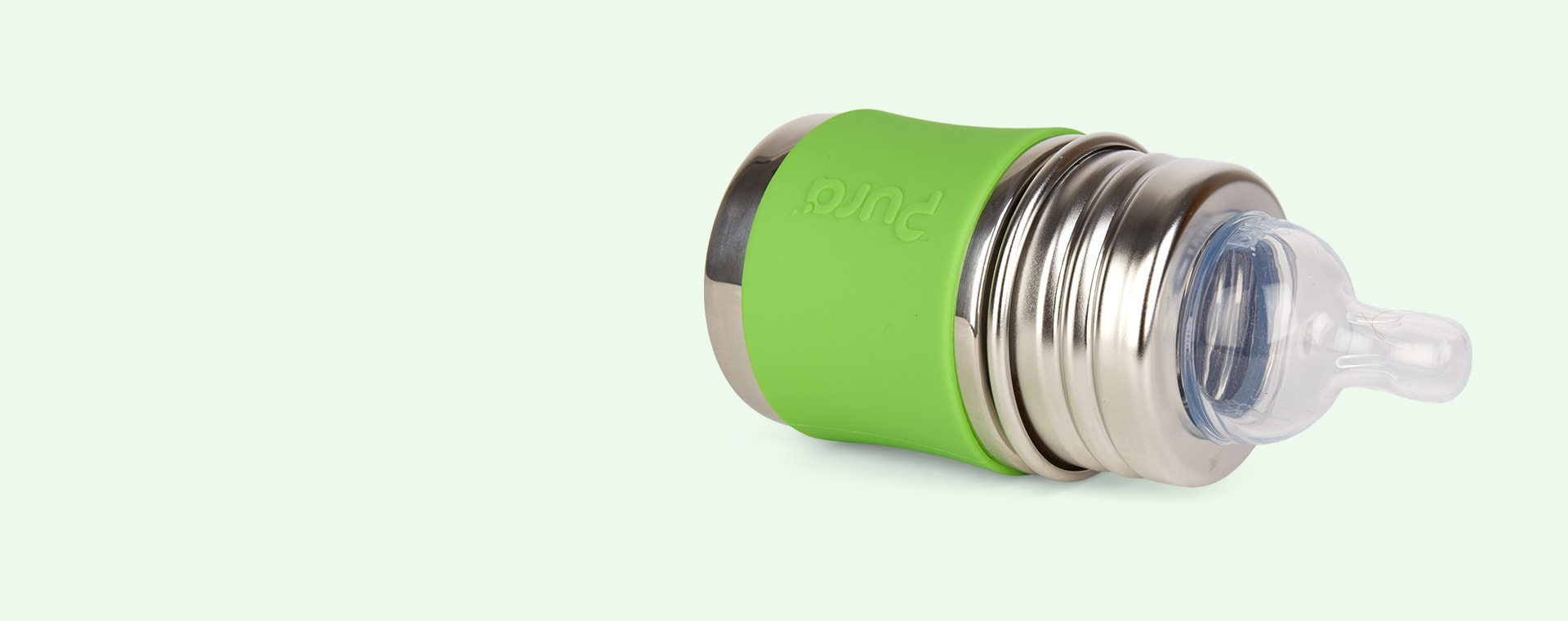 Green Pura Short Silicone Sleeve