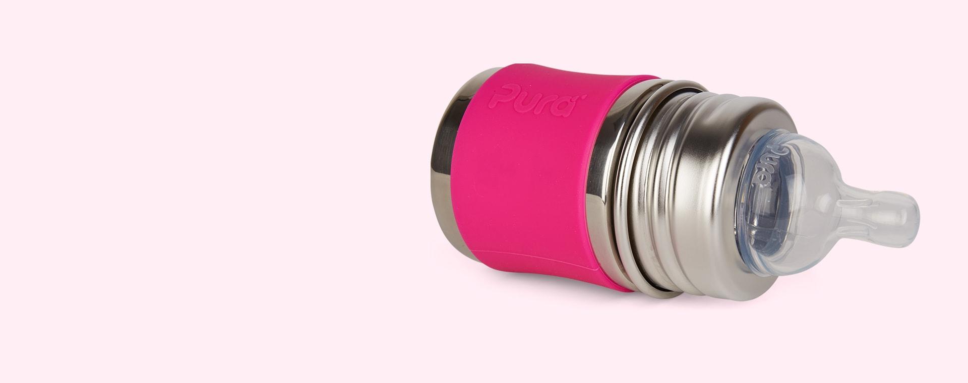 Pink Pura Short Silicone Sleeve