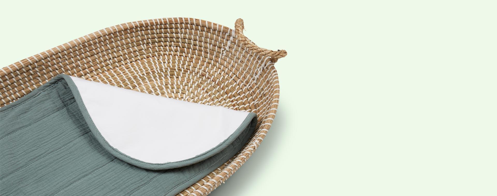 Sage Olli Ella Changing Basket Cotton Insert - Luxury