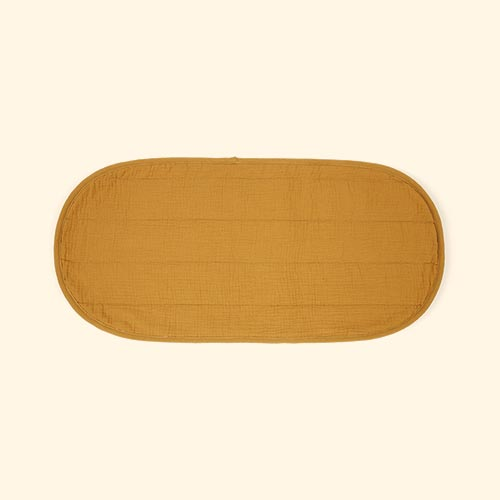 Mustard Olli Ella Changing Basket Cotton Insert - Luxury