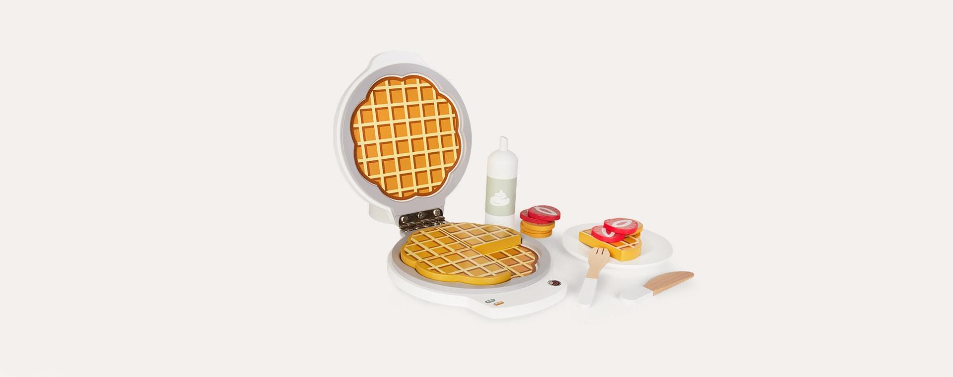 White Kid's Concept Waffle Iron Bistro