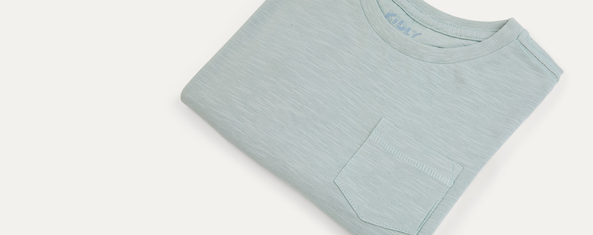 Duck Egg KIDLY Label Perfect Tee