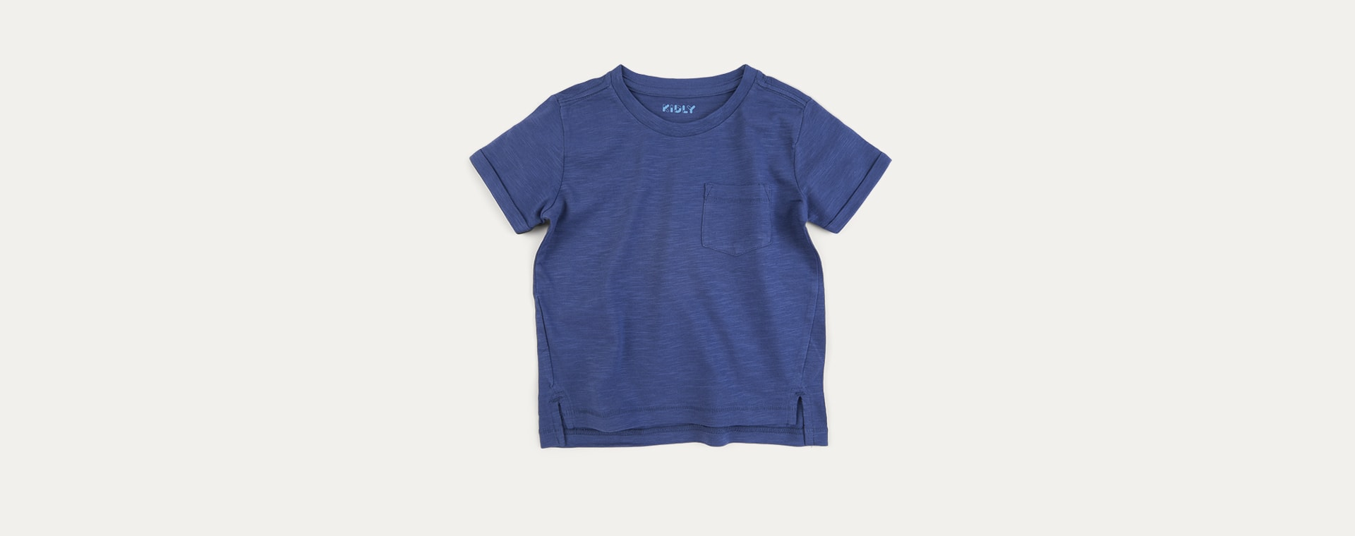 French Navy KIDLY Label Perfect Tee