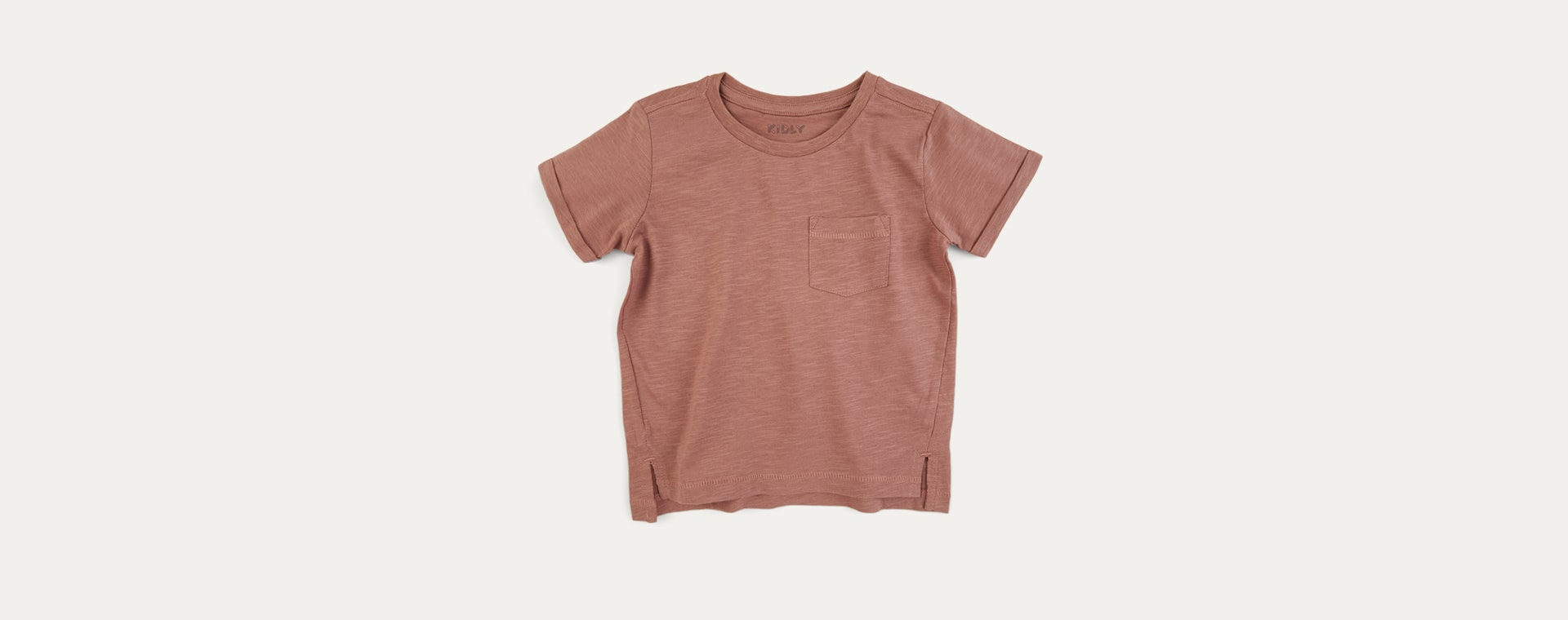 Burlwood KIDLY Label Perfect Tee