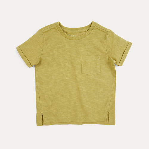 Mustard KIDLY Label Perfect Tee