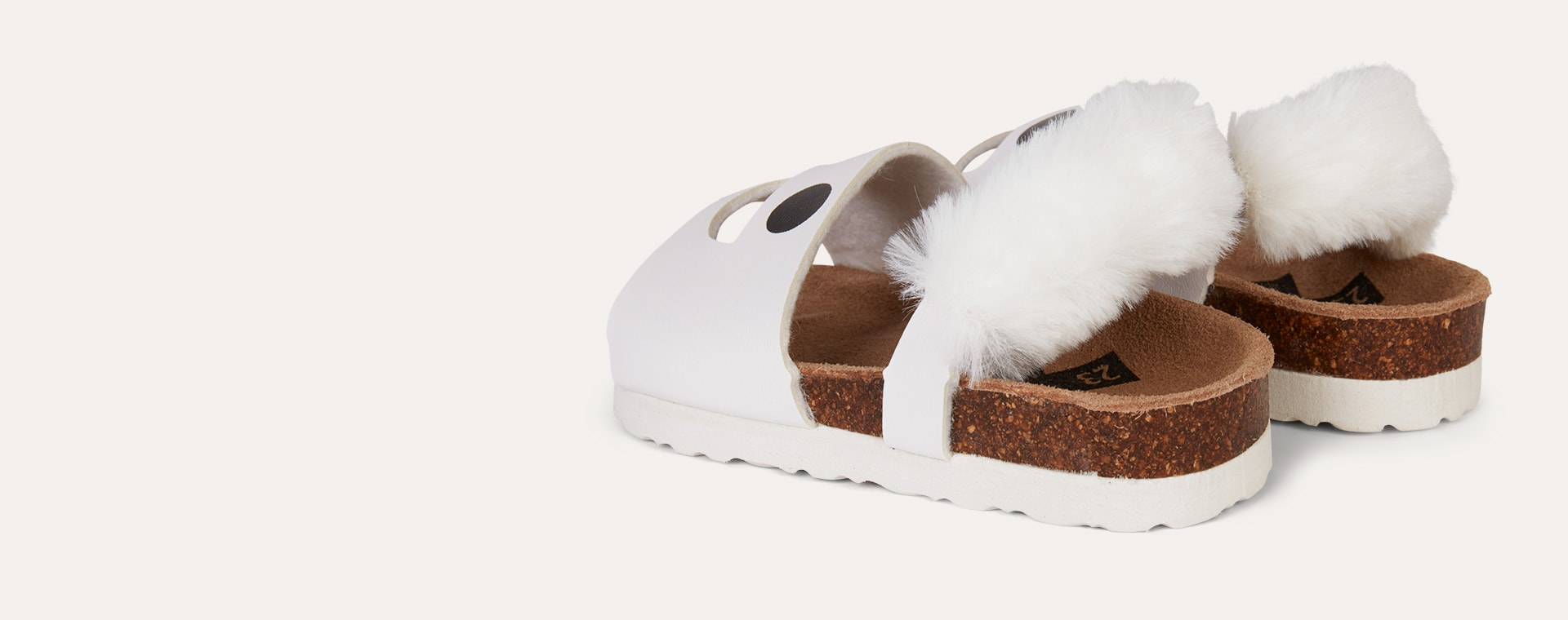 White Boxbo Wistiti Sandal