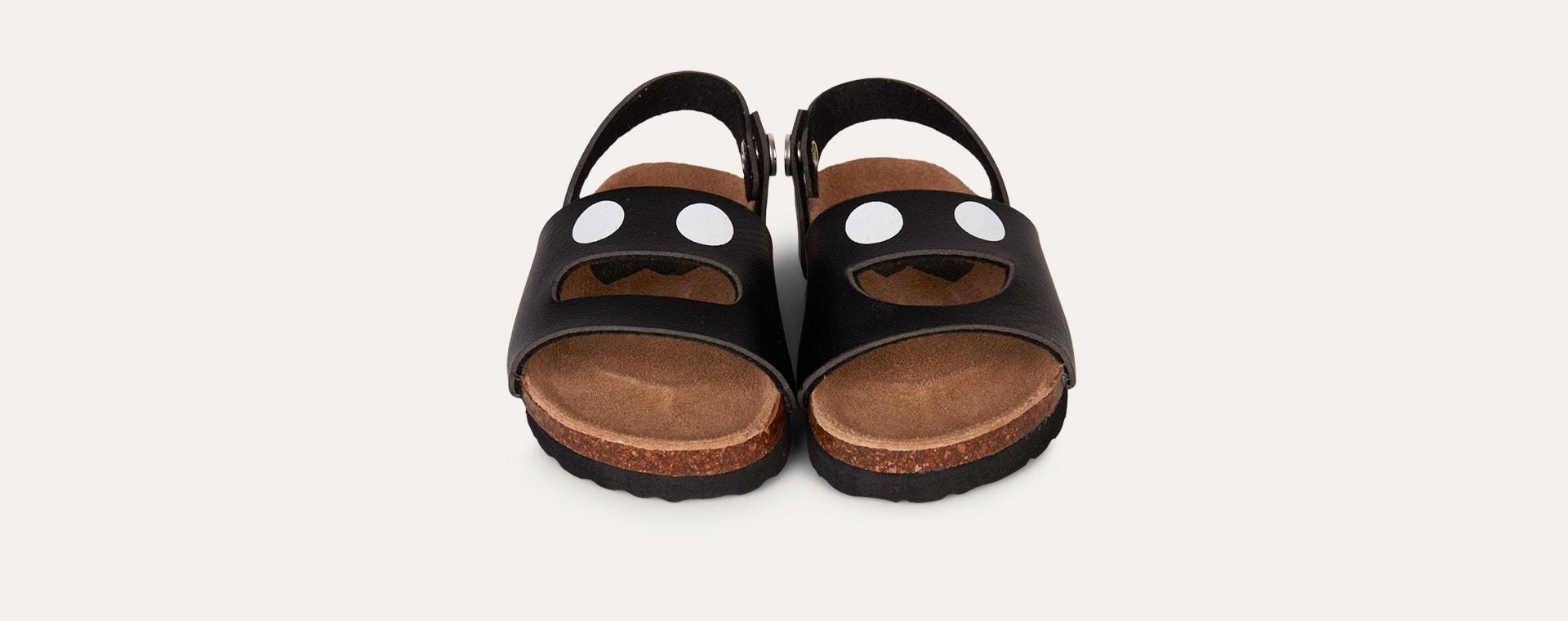 Black Boxbo Wistiti Sandal
