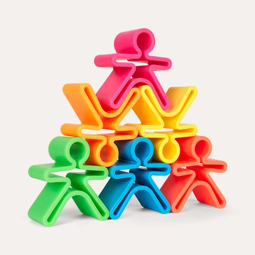 Multi Dëna 6 Piece Set Neon People
