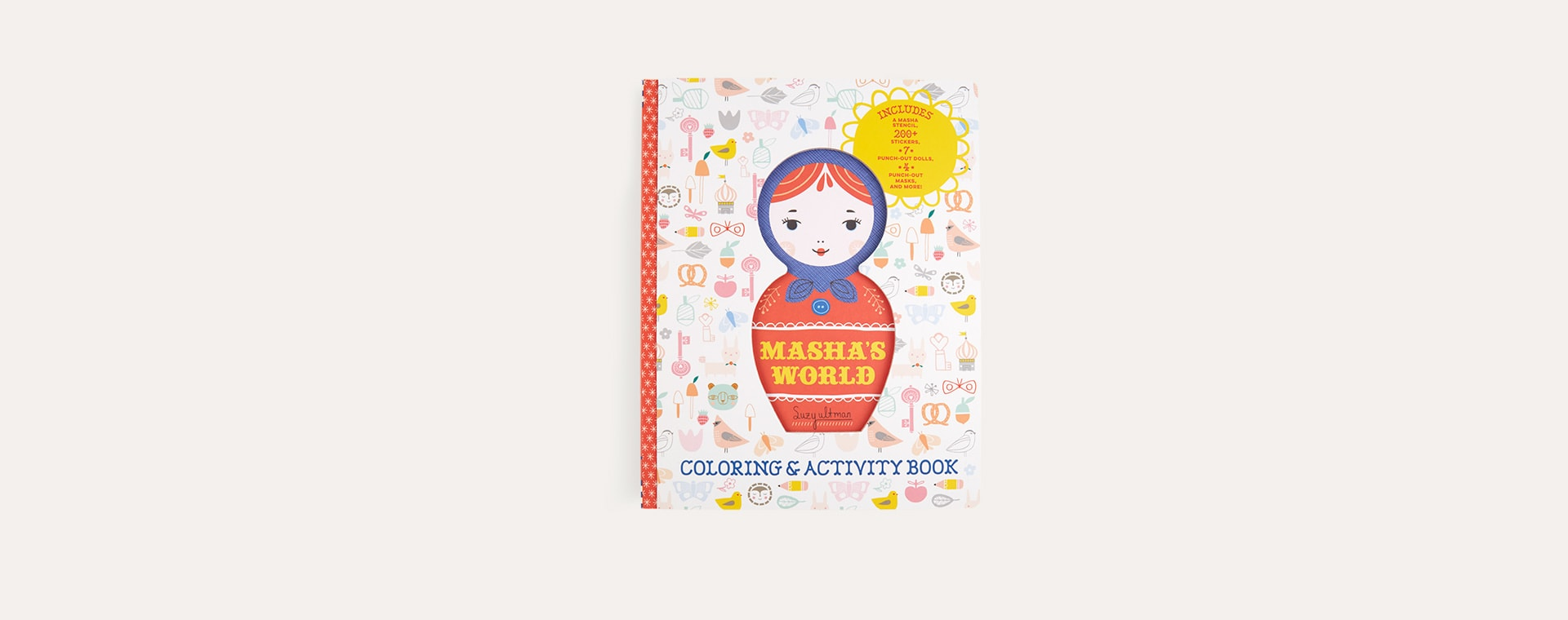 Multi Abrams & Chronicle Books Masha World: Colouring & Activity Book