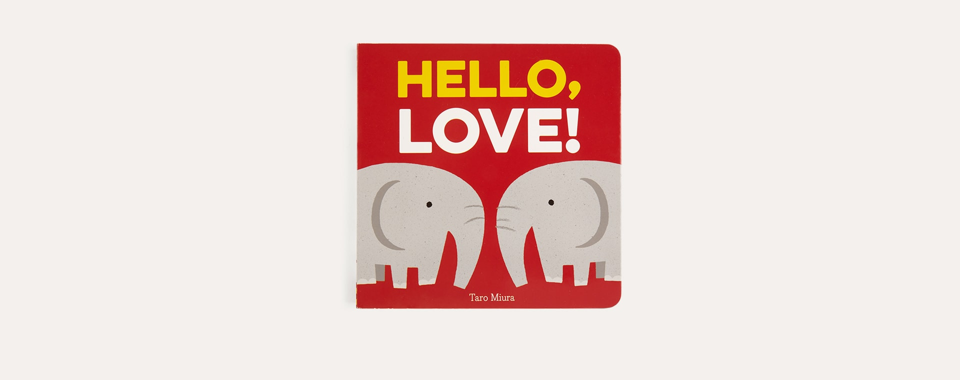 Red Abrams & Chronicle Books Hello, Love!