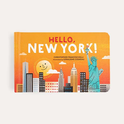 Orange Abrams & Chronicle Books Hello, New York!