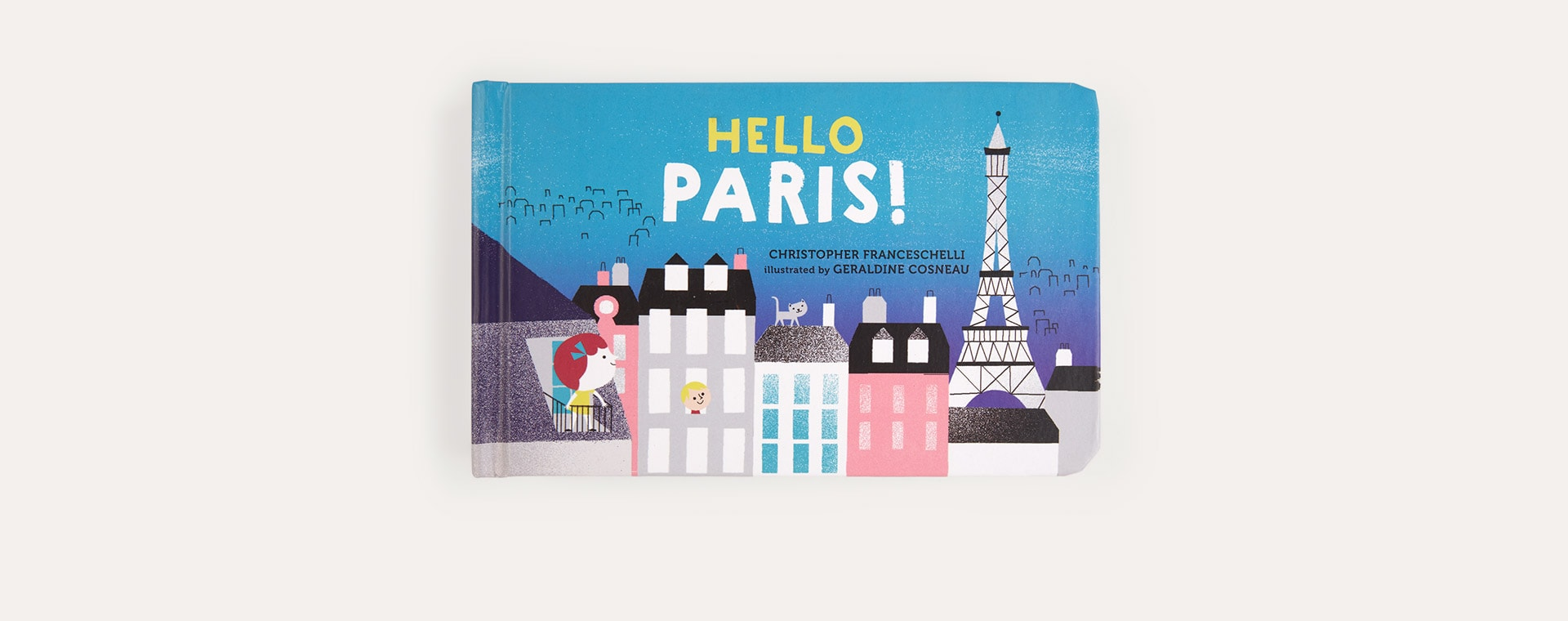 Blue Abrams & Chronicle Books Hello, Paris!
