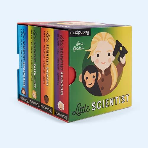 Multi Abrams & Chronicle Books Little Scientist Board Book Set