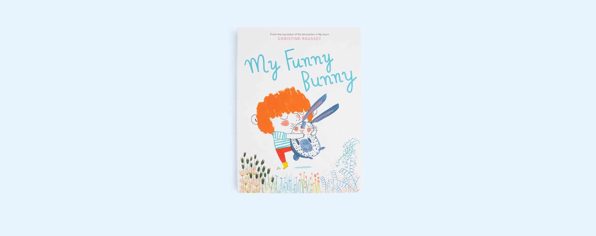 White Abrams & Chronicle Books My Funny Bunny