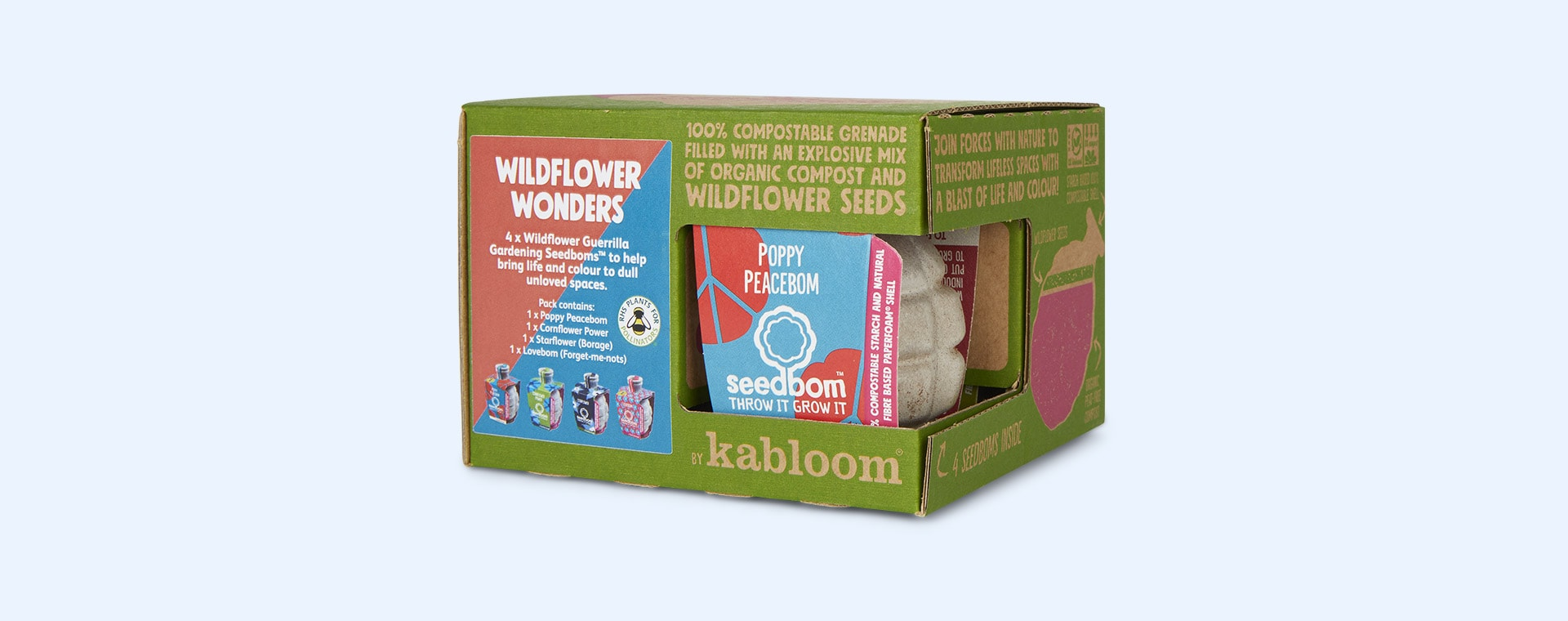 Wildflower Wonders Seedbom Seedbom Gift Box
