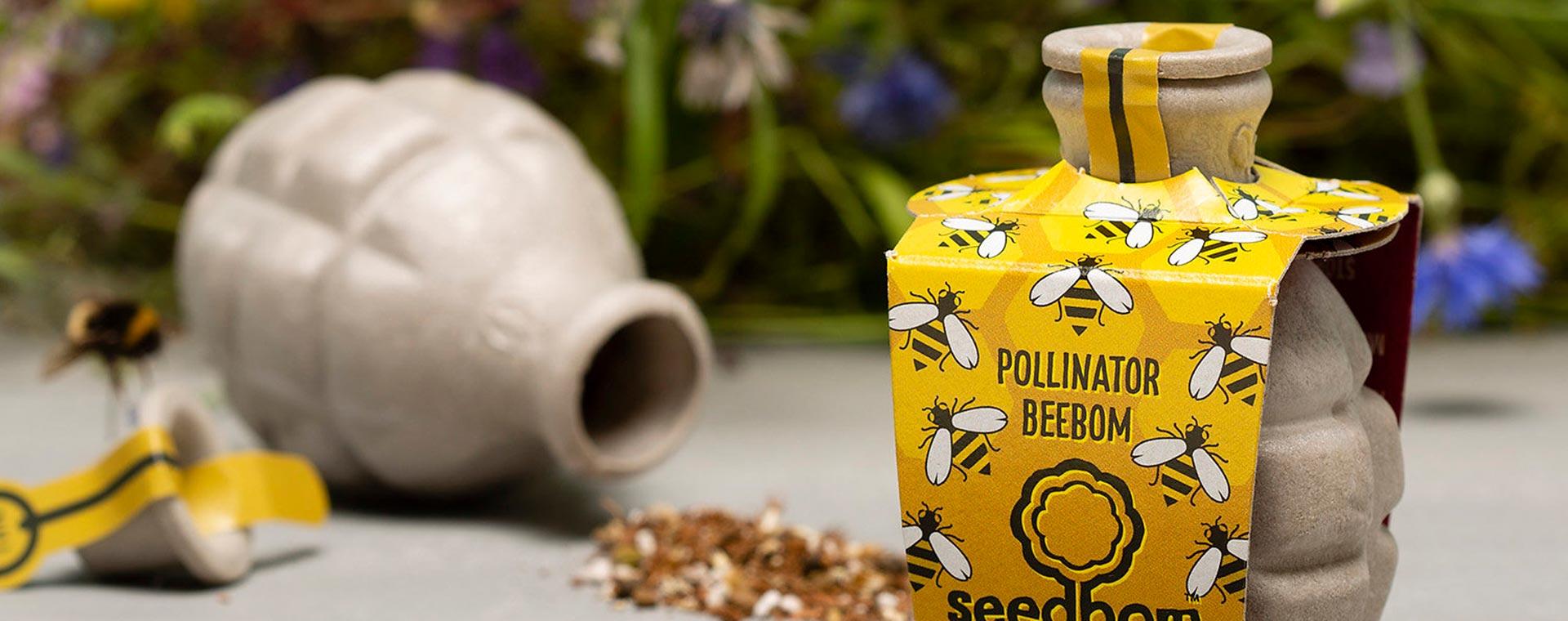 Pollinator Beebom Seedbom Seedbom