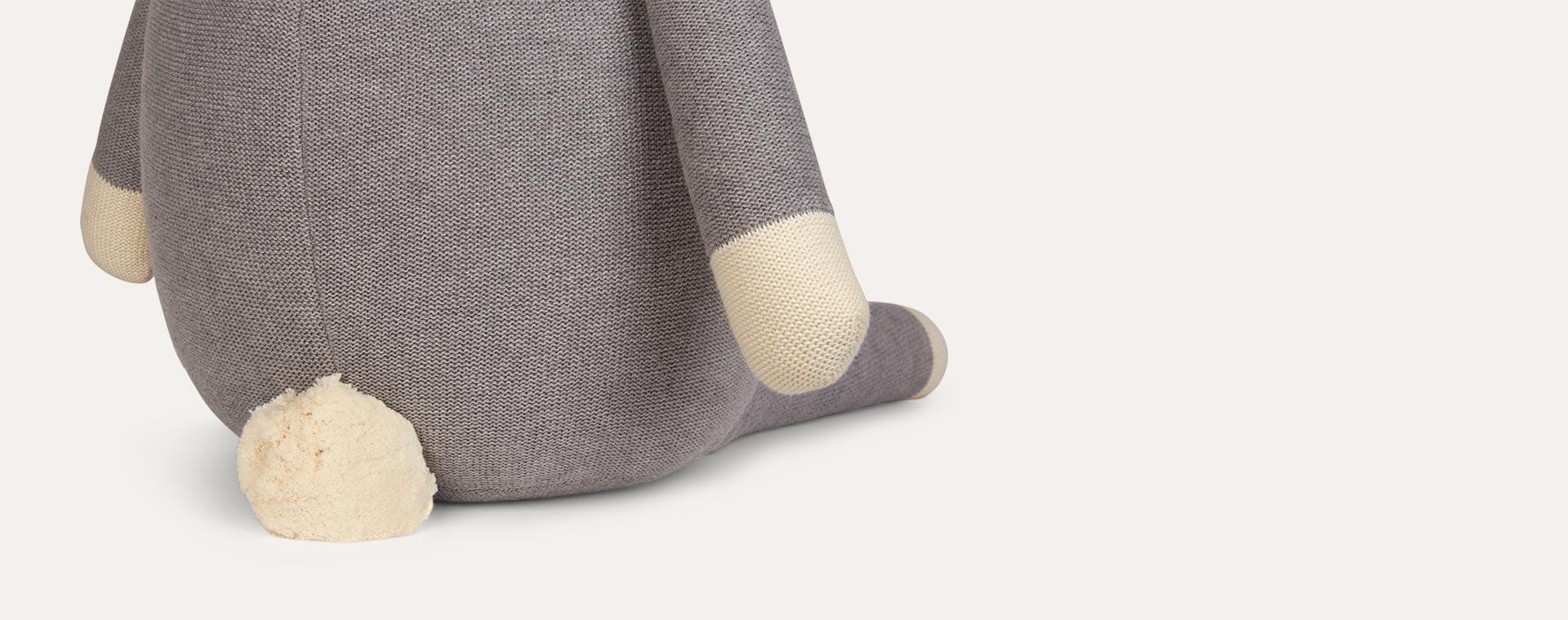 Grey Liewood Knit Teddy