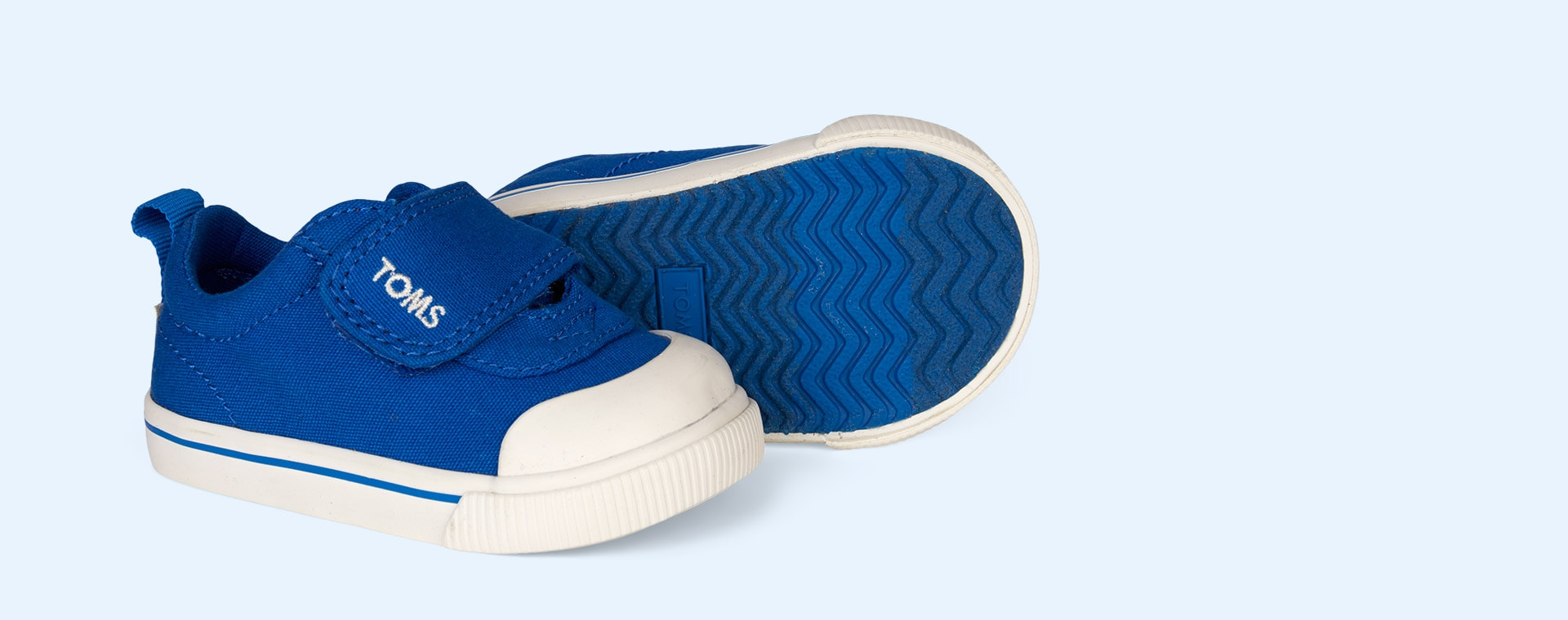 Blue TOMS Doheny Canvas Sneaker