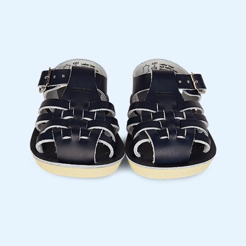 Navy Salt-Water Sandals Sailor Sandal