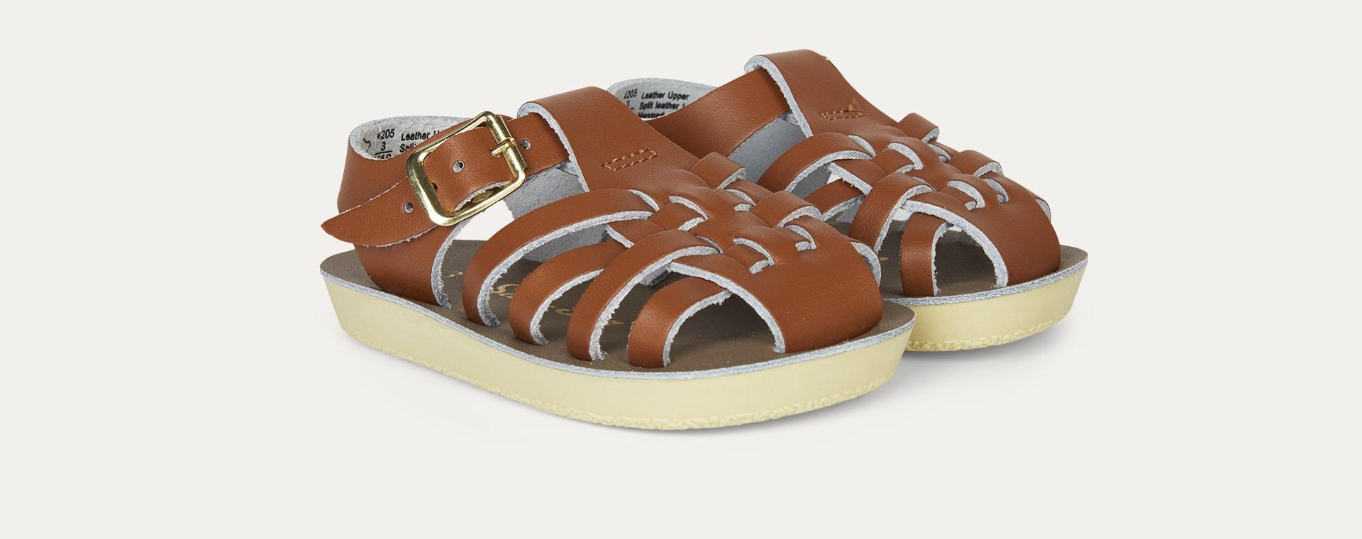 Tan Salt-Water Sandals Sailor Sandal
