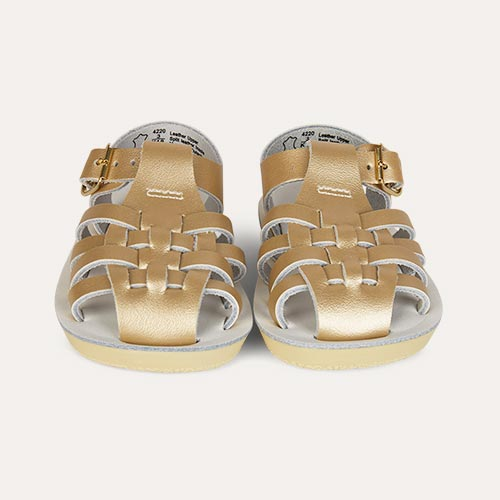 Gold Salt-Water Sandals Sailor Sandal