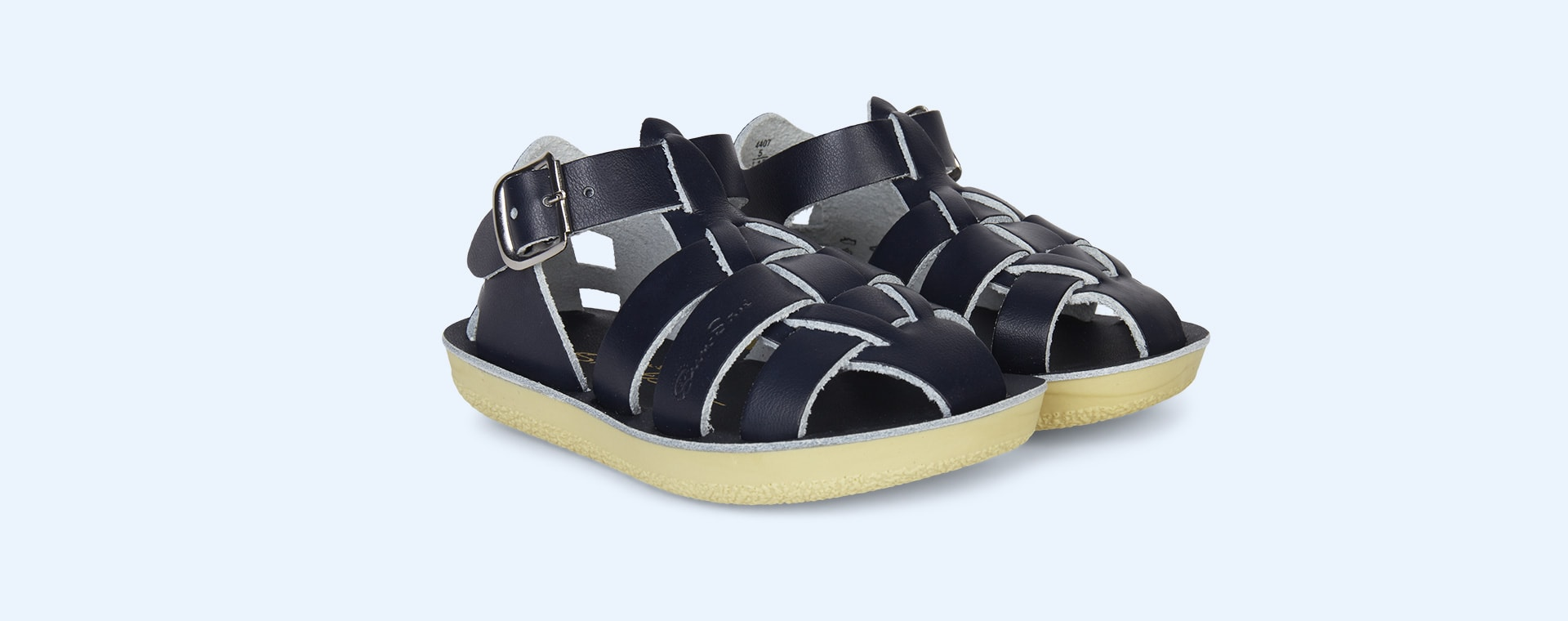 Navy Salt-Water Sandals Shark Sandal