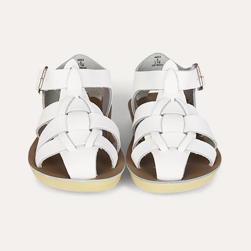 White Salt-Water Sandals Shark Sandal