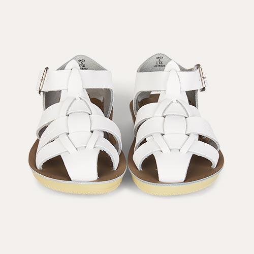 White Salt-Water Sandals Shark Sandal