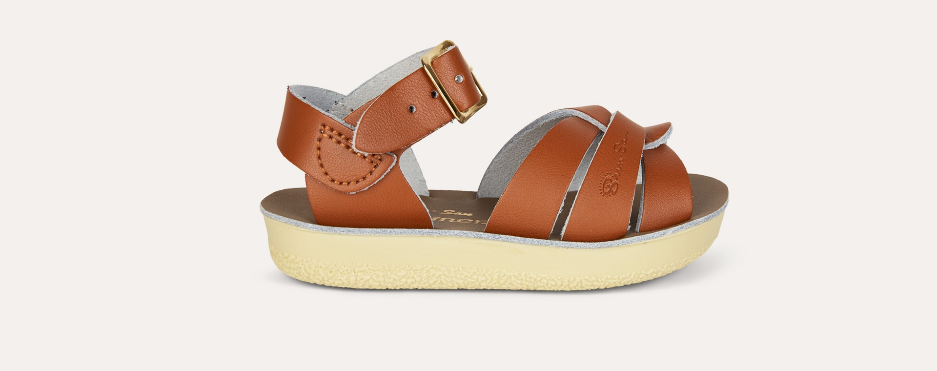Tan Salt-Water Sandals Swimmer Sandal