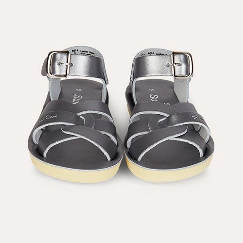 Pewter Salt-Water Sandals Swimmer Sandal