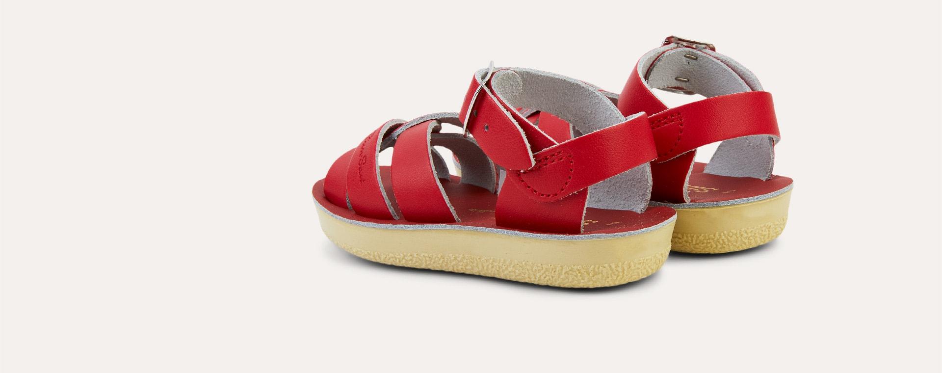 Red Salt-Water Sandals Swimmer Sandal