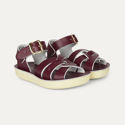 Claret Salt-Water Sandals Swimmer Sandal