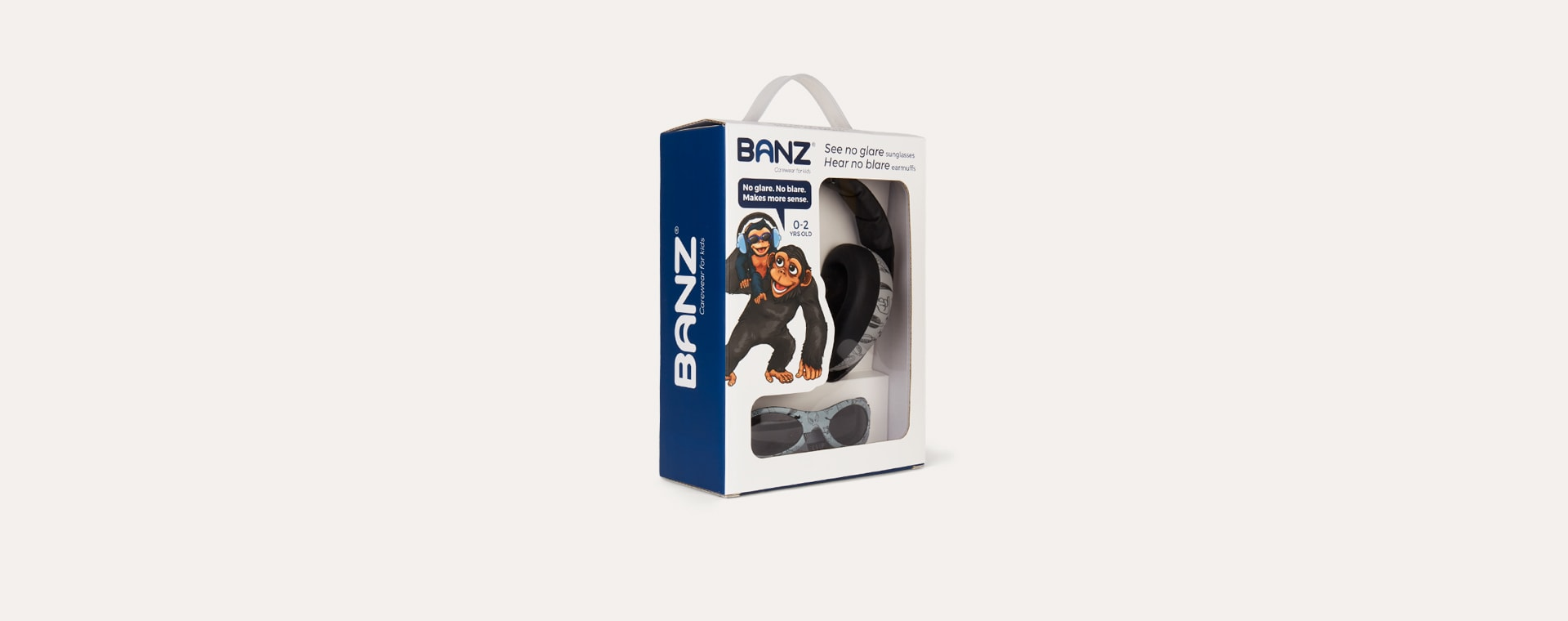 Graffiti Banz Ear Defenders and Glasses Combo Pack
