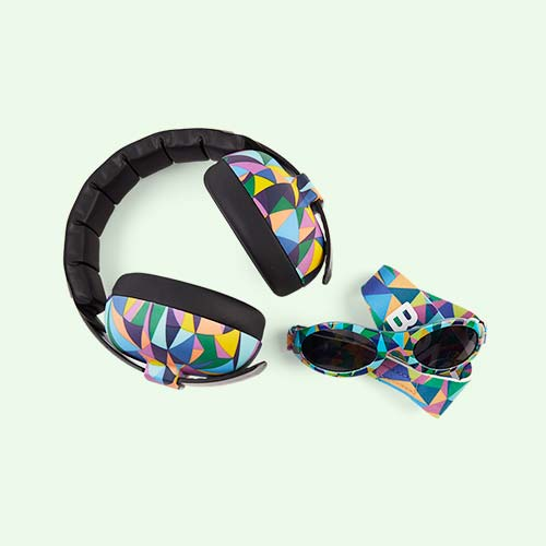 Kaleidoscope Banz Ear Defenders and Glasses Combo Pack